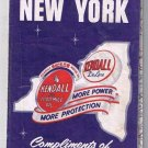 New York Kendall Road Map 1957