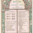 The Rosary Sheet Music Ethelbert Nevin
