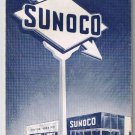 Sunoco Oil Detroit & Vicinity Road Map 1964-65
