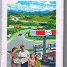 Eastern United States Esso Road Map 1971