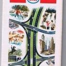 Western United States Enco Road Map 1968