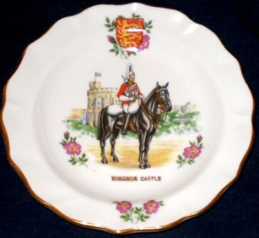DUCHESS Windsor Castle Trinket Dish Horse Guard England