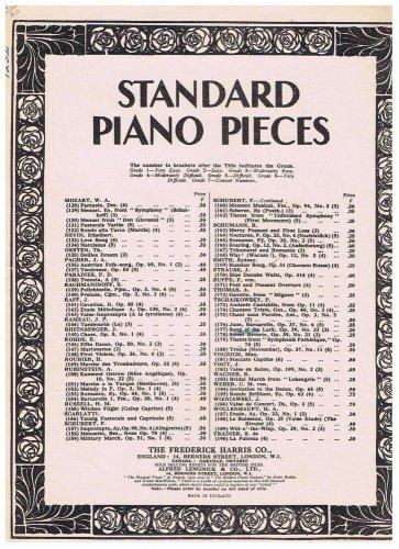 Song Of The Lark Sheet Music Peter Tschaikowsky