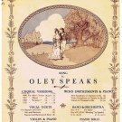 Sylvia Sheet Music Oley Speaks