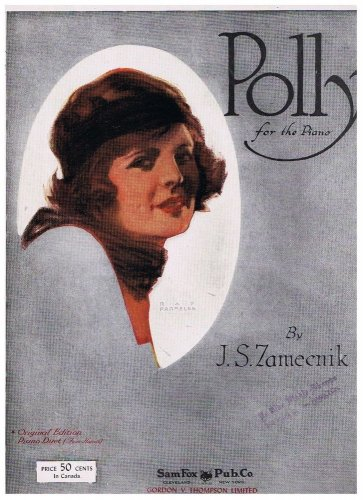 Polly for the Piano Sheet Music J S Zameenik