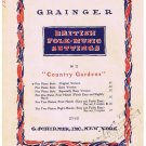 Country Gardens Sheet Music British Folk Music