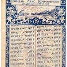 Chant Sans Paroles Sheet Music Peter Tshcaikowsky