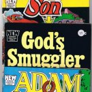 Barbour Christian Comics (3) Al Hartley Prodigal Son, Adam & Eve, God's Smuggler