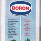 Boron Oil Pennsylvania Road Map 1980