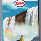 New York Esso Road Map 1960