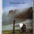 Newfoundland & Labrador Official Road Map 1988