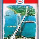 New York City & Long Island Esso Road Map 1967