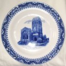 VINTAGE SOHO Pottery Satsuma Plate Building Cobridge Made in England