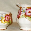 VINTAGE Royal Albert Bouquet Cream Sugar Bowl England