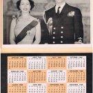 Queen Elizabeth Prince Phillip Veterans Calendar 1960