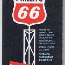 Pennsylvania Phillips 66 Road Map 1965