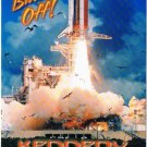 Cape Canaveral Florida Postcard Blast Off Kennedy Space Center Endeavor Pad 39B