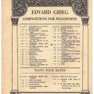 March Of The Dwarfs Sheet Music Edvard Grieg