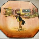 Royal Doulton Dickensware Mr Pickwick Signed Noke Dish