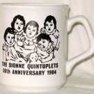 Dionne Quintuplets Canada 50th Anniversary Mug 1984 England