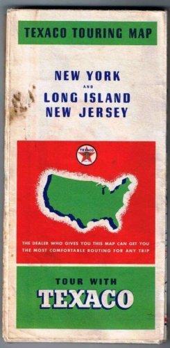 NEW YORK TEXACO Roadmap New York City and Long Island New Jersey 1937