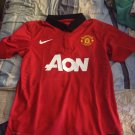 Manchester United 2013-2014 Home Soccer Jersey Shirt Red -Player Version For Men