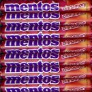 MENTOS MINTS - CINNAMON - 30 14-Piece Packs - 2 Boxes