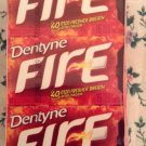 DENTYNE ICE FIRE TWO 12 CT TOTAL 24 X 16 PICES  NEW   384 Pieces   APR 2015