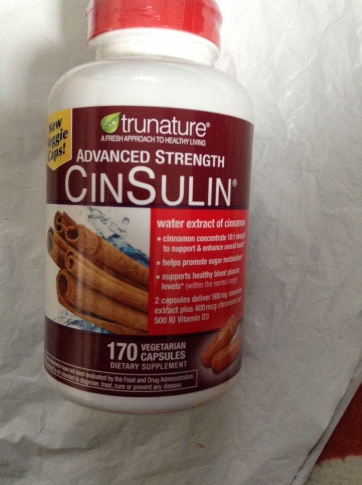 Trunature Advanced Strength Cinsulin 170 CT