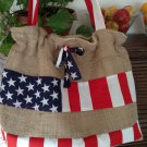 handmade beach bag, picnic bag
