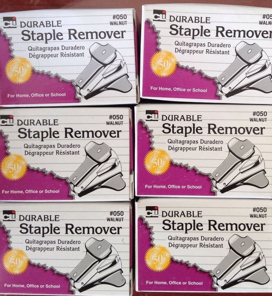 DURABLE  STAPLE REMOVER Lot Of 10