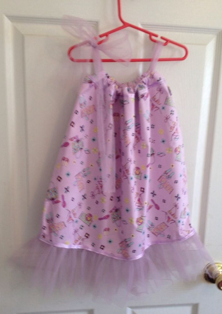 Pillow Case Dress Size 4 -6