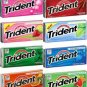 All AMERICAN GUM ASSORTMENT - TRIDENT VALUE PACK GUM - 3 Each / 24 Packs