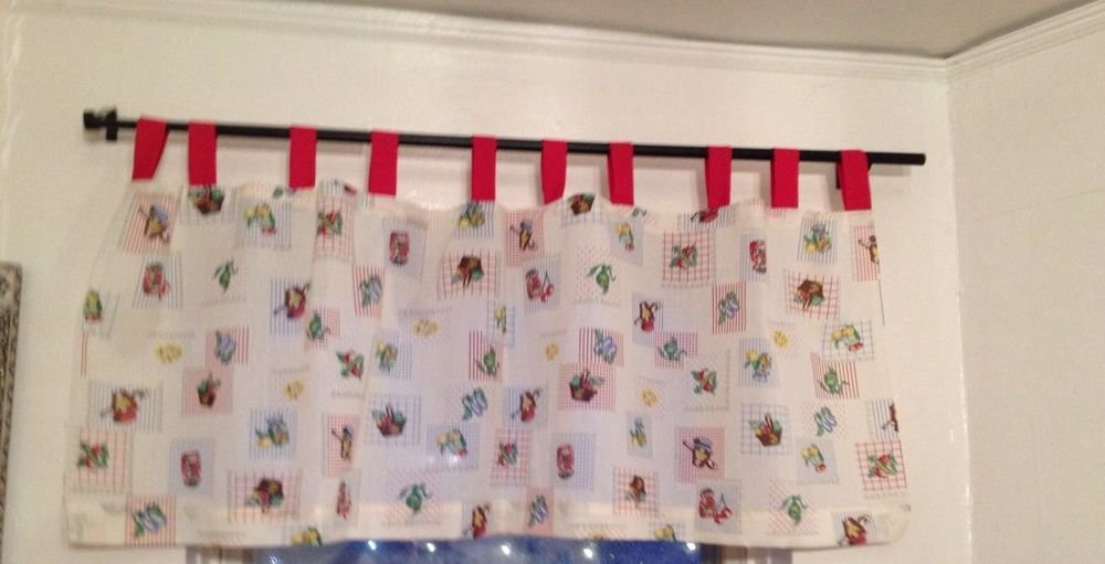 Kitchen Curtain Valance New Custom Made Tab Tops 60""
