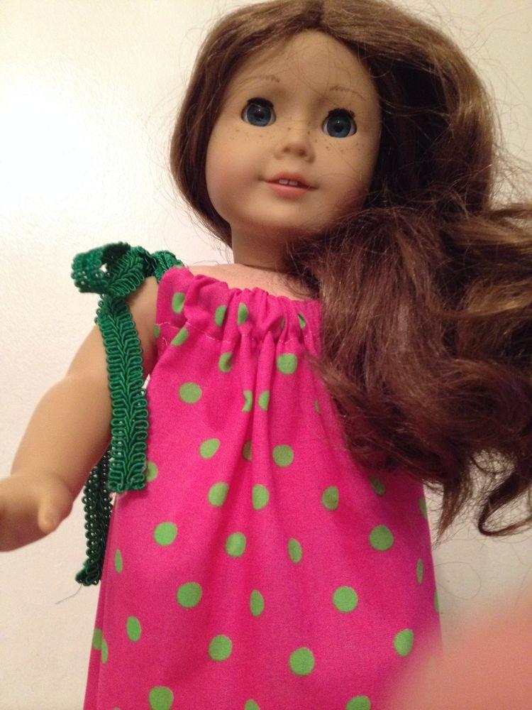 """Handmade Sundress For American Girll Doll 18"""""""