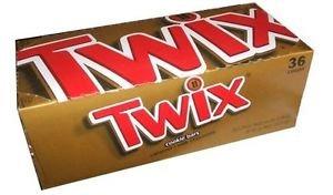 Twix Original Caramel 36 Bars