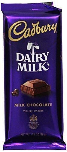 Cadbury Premium Milk Chocolate, 3.5-Ounce Bars (Pack of 14)