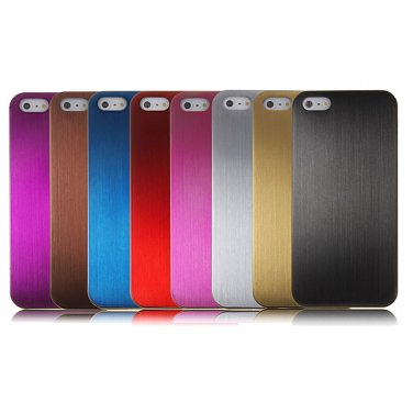 0.3mm Super Slim Brushed Titanium Alloy Metal Case For iPhone 5 5S