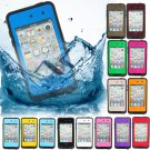 PC Waterproof Shockproof DirtProof Case For iPod Touch 4G Gen4