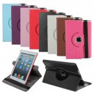 360 Degree Rotating PU Stand Leather Cover Case For iPad mini