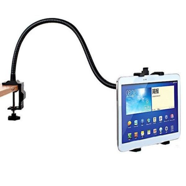 360 Angle Rotating Desk Bed Stand Mount Holder For iPhone iPad 2 3