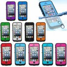 Fingerprint Identification Waterproof Shockproof Case For iPhone 5S