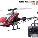 Skyartec Wasp X3V 2.4GHz 6CH 3-AXIS Flybarless LCD RC Helicopter RTF