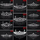 Silver Crystle Wedding Bridal Tiara Alloy Crown Bride Head Band