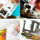 Army Knife Card Life-saving Multifunctional Tool