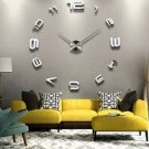 Large Size Modern DIY Home Decor Mirror Wall Clock Sticker