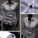 Stylish Men Casual Slim Fitted Dress Shirt