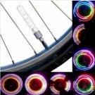 2 PCS 5 LED 8 Flashing Bicycle Valve Light Bike Wheel