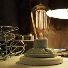 Table Lamp With Adjustable Brightness vintage Bulb