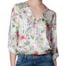 Floral Long Sleeve Shirt New Printing Chiffon Blouse